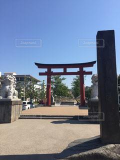 鶴岡八幡宮 鳥居の写真・画像素材[1174457]