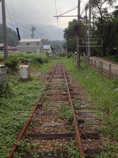 線路の写真・画像素材[364983]