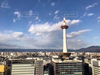 都市の大規模なタワーの写真・画像素材[993446]