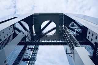 大きな白い建物の写真・画像素材[2859202]