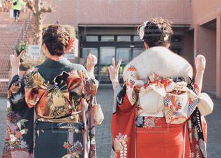 衣装を着た人々の集行の写真・画像素材[2869155]
