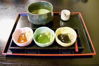 わらび餅と抹茶のセット - No.953896