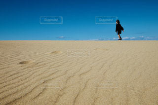 鳥取砂丘の写真・画像素材[2132878]