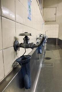 小学校の水飲み場の写真・画像素材[4041356]