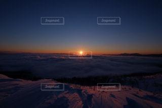 美幌峠からの初日の出の写真・画像素材[1416254]
