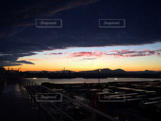 夕空の写真・画像素材[1460674]