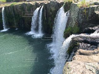 滝の写真・画像素材[370364]