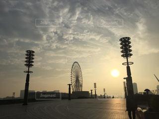 夕焼けの写真・画像素材[366568]