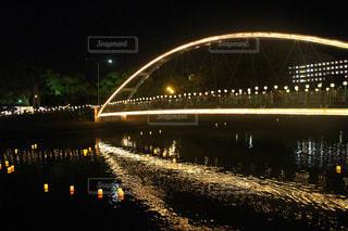 いくつかの水の上の大きな橋 - No.721728