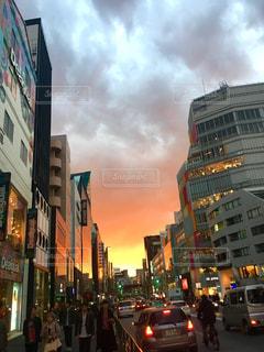 夕日の写真・画像素材[375604]