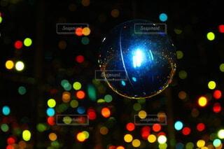 光り輝くイルミネーションの写真・画像素材[4073854]