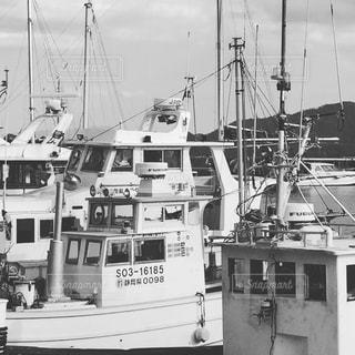 漁港、海、船、寒い、大漁、力、厳しいの写真・画像素材[387078]