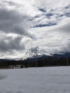 ある日の浅間山の写真・画像素材[1084163]