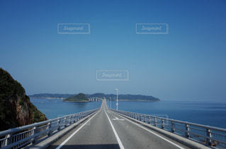 角島大橋の写真・画像素材[1019665]