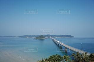 角島大橋の写真・画像素材[1019666]