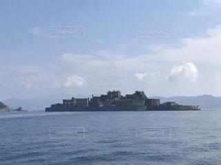 軍艦島の写真・画像素材[1019667]