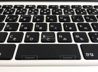 ノートパソコンのキーボードの写真・画像素材[951185]