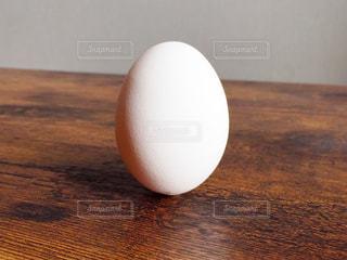 直立不動の卵の写真・画像素材[1012048]