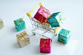 たくさんのプレゼント ショッピングの写真・画像素材[1649652]
