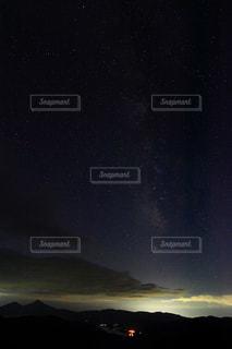 天の川の写真・画像素材[1522052]