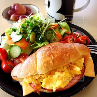 朝食の写真・画像素材[373371]