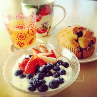 朝食の写真・画像素材[373373]