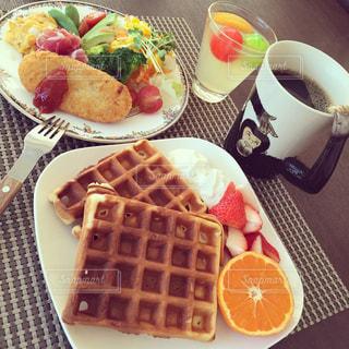 朝食の写真・画像素材[373377]