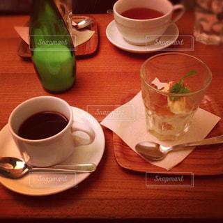 カフェ コーヒー オシャレの写真・画像素材[371540]