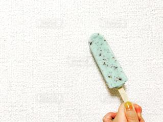 チョコミントアイスの写真・画像素材[931221]