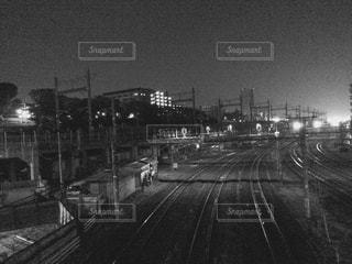 夜景の写真・画像素材[376997]