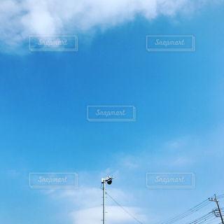 青空にファンの写真・画像素材[1026582]