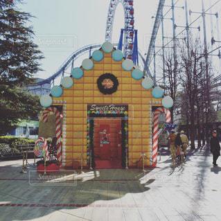 お菓子のお家の写真・画像素材[1036929]