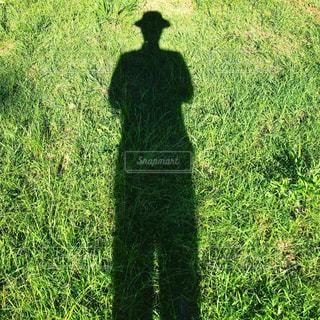 私の影の写真・画像素材[1201557]