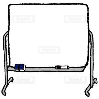 ホワイトボードの写真・画像素材[1243674]