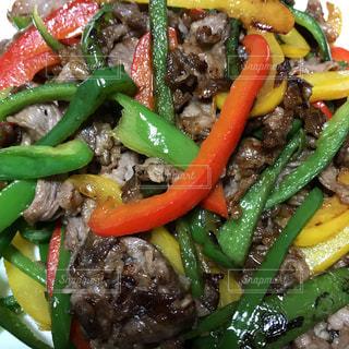 肉野菜炒めですの写真・画像素材[1289592]