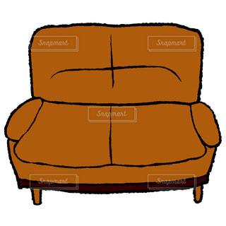 お気に入りのソファーの写真・画像素材[1327722]