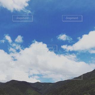 夏と山と空の写真・画像素材[1407274]