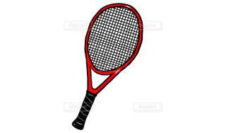 テニスラケットの写真・画像素材[1427247]