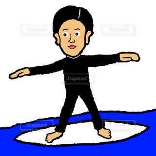 サーフィンの写真・画像素材[1432223]