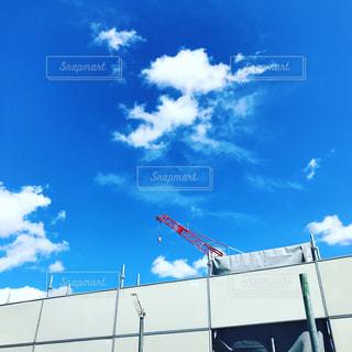 夏の終わりの空の写真・画像素材[1444520]