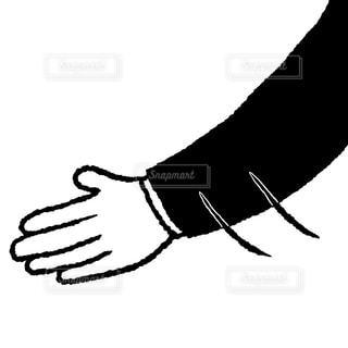 握手を求めるの写真・画像素材[1566616]