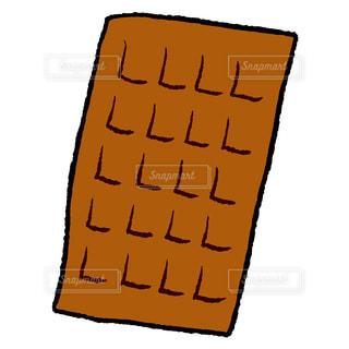 板チョコの写真・画像素材[1583547]