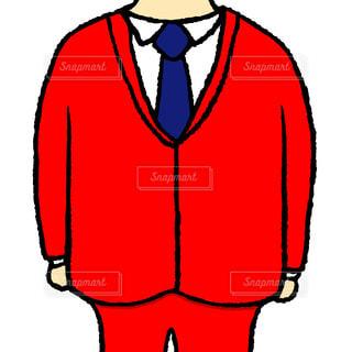 赤いスーツの写真・画像素材[1612770]