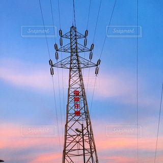 電線の写真・画像素材[1625229]