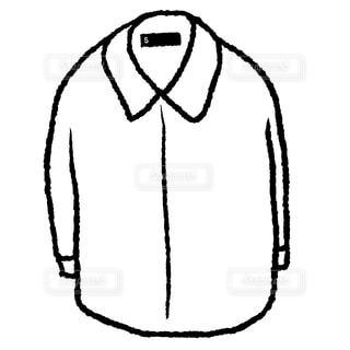 白シャツの写真・画像素材[1760581]