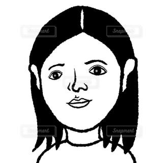 長髪男の写真・画像素材[2029734]