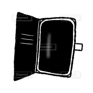二つ折りスマホケースの写真・画像素材[2097350]
