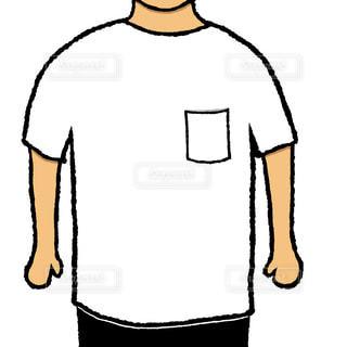 ビッグシルエットTシャツの写真・画像素材[2241373]