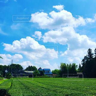 田舎の青空の写真・画像素材[2244995]