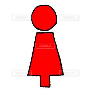女トイレの写真・画像素材[2286580]